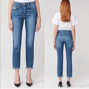NEW • 3x1 • W3 Straight Authentic Crop Jeans Ace
